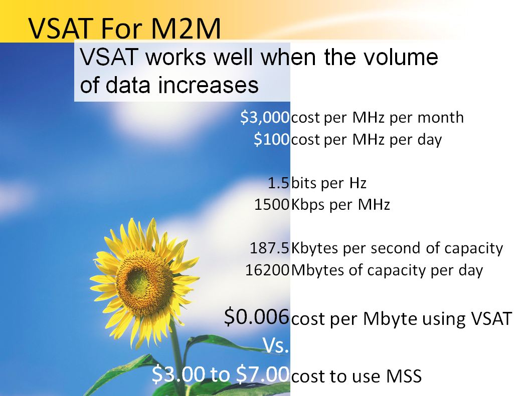 m2m satellite communication market machine to machine Machine-to-machine (m2m) communication is considered to be a key enabler of   of vertical markets including automation, utilities, asset management, telemetry,   describe concepts behind satellite communications, vsat, microwave and.